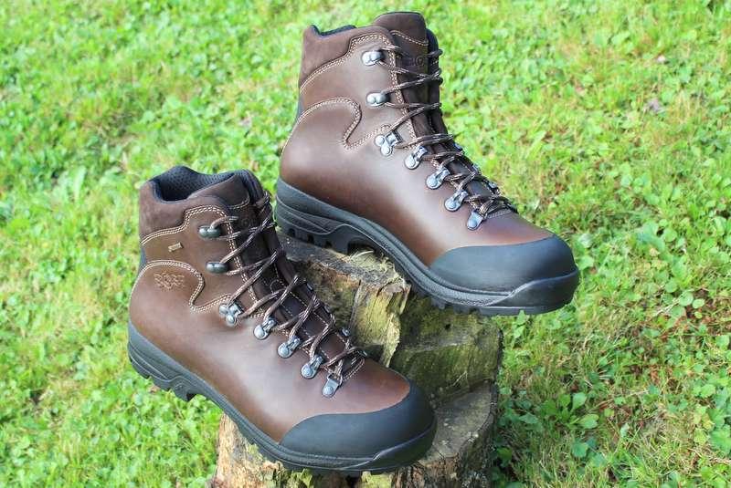 9c0d59639 BOSP Caledon WX, treková obuv, Vibram, Goretex - HNEDÁ