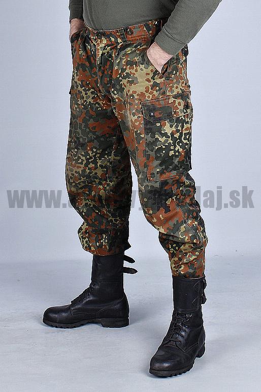 31cbc321571e Nohavice nemecké – PÁS DO 98 cm - originál BW maskáče