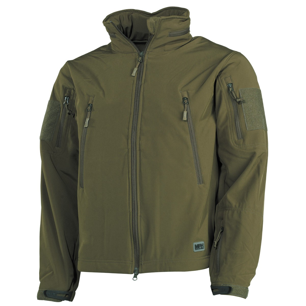 Bunda SCORPION Softshell, MFH - OLIVA