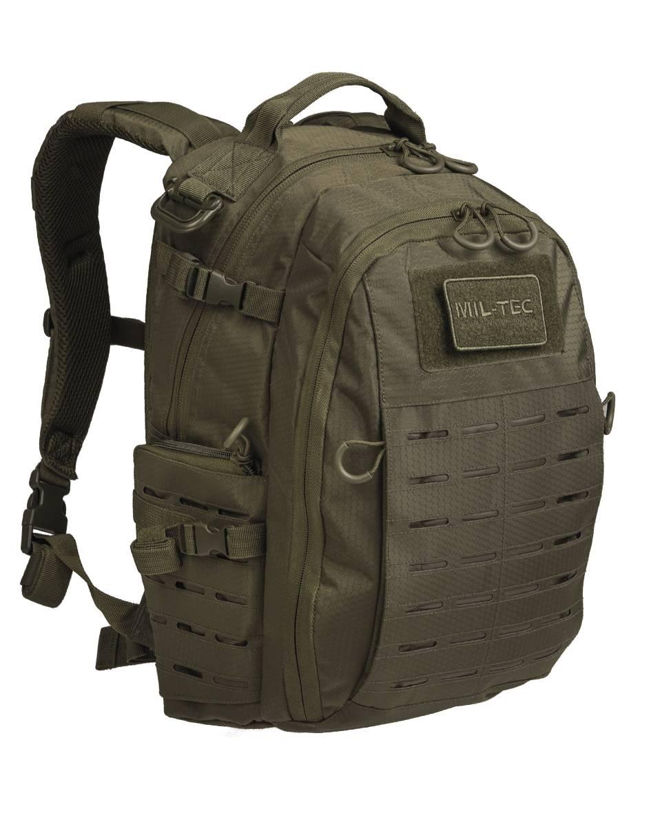 6fed22d49 Ľahký taktický ruksak s perfektným odvetraním chrbta a popruhov pre  outdoor, do školy či na notebook