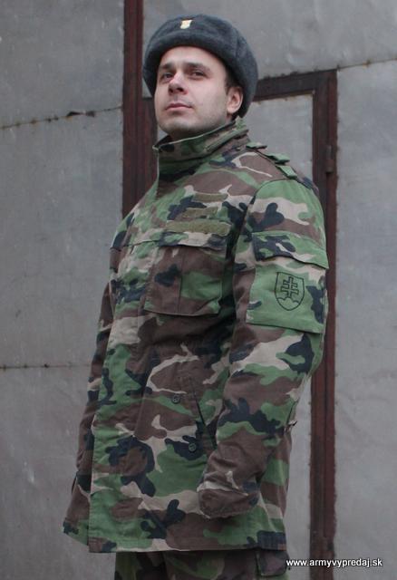 9d7af535613e Kabát vzor 97 s UK vložkou – originálne slovenské maskáče