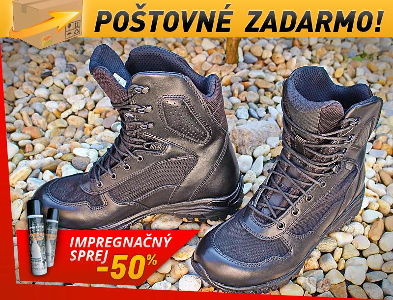 039c92c805c3 Obuv BOSP Tactical URBAN S14170 Gore-Tex - čierna