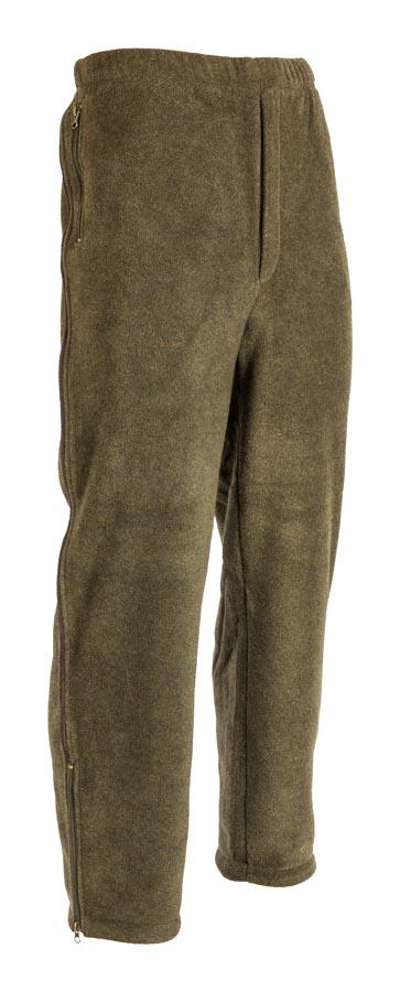 b22f2646f M-Tramp poľovnícke flisové nohavice - supersoft fleece, OLIVA
