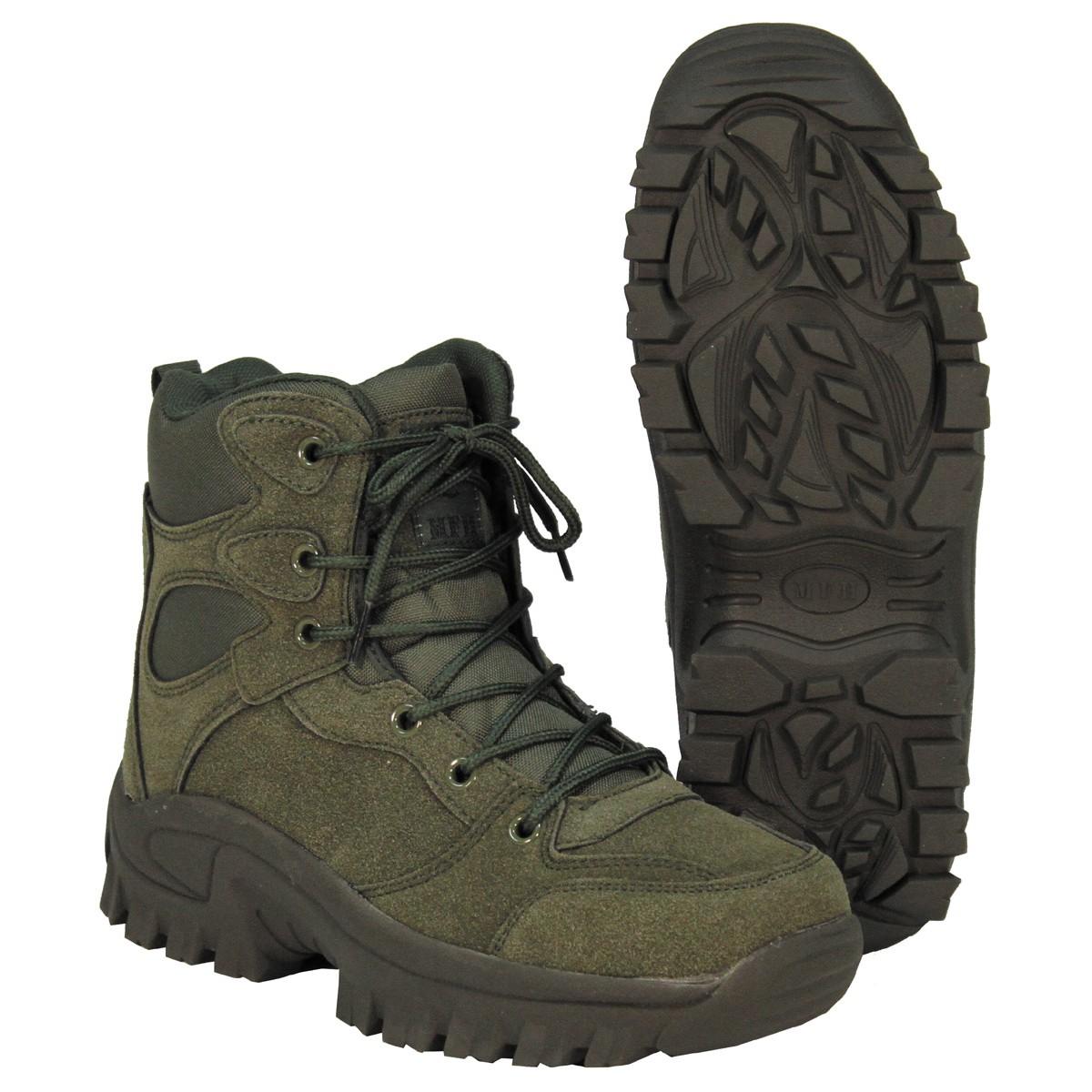 1251c23942 Členková obuv MFH Commando - OLIVA