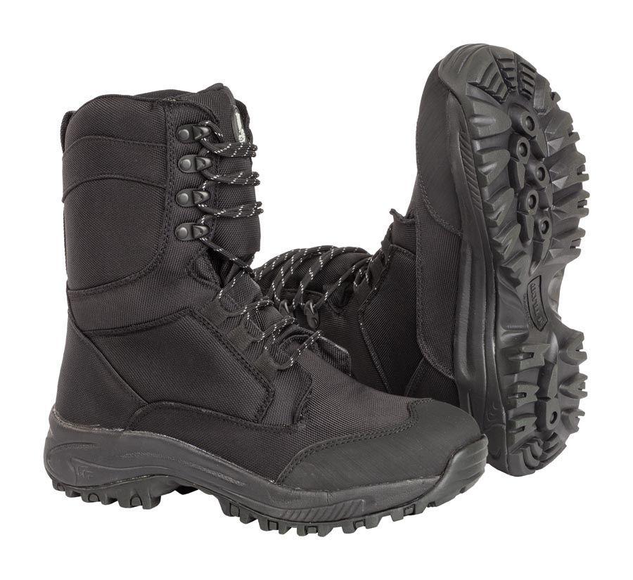 08610a884 M-Tramp vysoká zateplená obuv, CORDURA - ČIERNA
