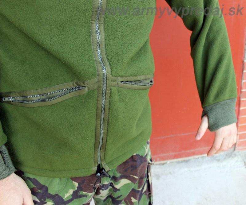 45835e4b9 OBLEČENIE | MASKÁČE | Britská bunda FLEECE - originál, zánovná ...