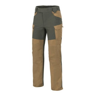 Helikon-Tex Hybrid Outback Pants, DuraCanvas + VersaStretch - COYOTE/TAIGA GREEN
