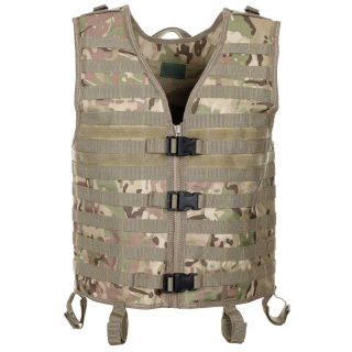 Taktická vesta MFH MOLLE Light - OPERATION CAMO