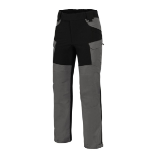 Helikon-Tex Hybrid Outback Pants, DuraCanvas + VersaStretch - CLOUD GREY/ČIERNA