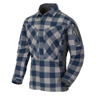 Helikon-Tex košeľa MBDU Flannel Shirt® - SLATE BLUE CHECKERED