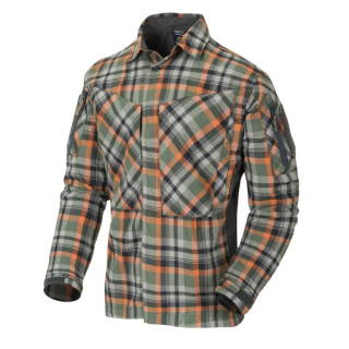 Helikon-Tex košeľa MBDU Flannel Shirt® - TIMBER OLIVE PLAID