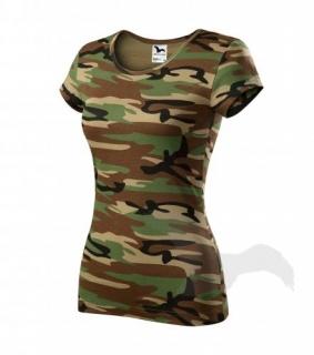 a11c7e5ac31a Dámske maskáčové tričko
