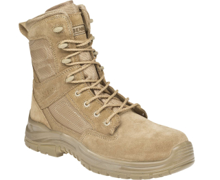 fdd595b02 DESERT LIGHT - vysoká zásahová obuv, semiš empty
